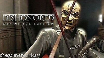 DISHONORED DEFINITIVE EDITION [PC] Steam key