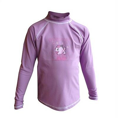 iQ UV 300 Shirt LS Candyfish violet Kids