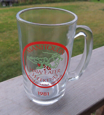 1981 Haweater Weekend Beer Mug / Stein from Little Current  Manitoulin Island