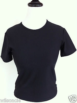 Hind Active Lightweight Dri-FIT Black Sport T-Shirt SZ Medium M - Made in Canada