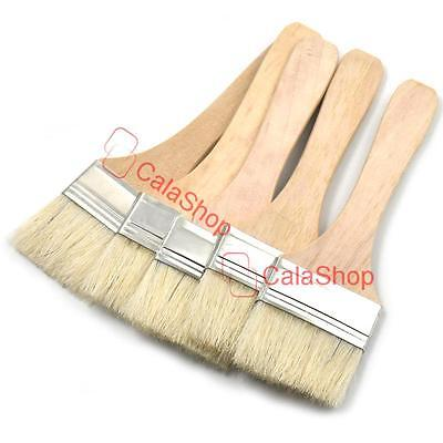"Brush Brushes Bristles Perfect Adhesives Paint Touchups 1"" 2"" 3"" 25 50 75mm"