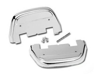 Caches Marche Pieds Passager Chrome Harley Touring, Softail 1986-2015