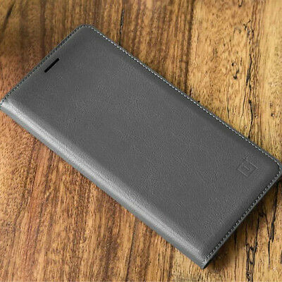 Official Flip Leather Smart  Auto wake/Sleep Case Cover For OnePlus 3 /3T 5 5T 6