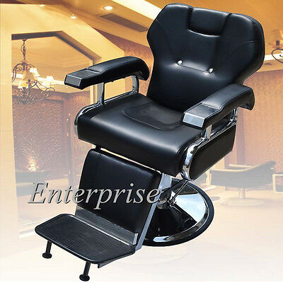 Threading Shaving Barber Chair Salon Hydraulic Reclining Hairdressing Furniture