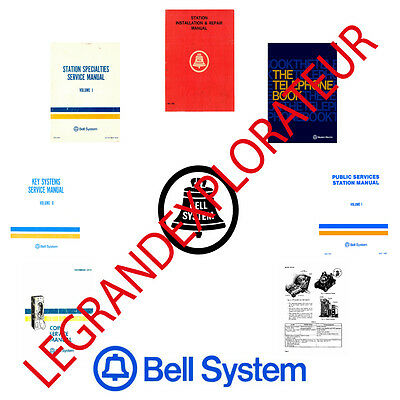 Bell System Practices Service Repair Manuals Collection (PDFs manual s on 2 DVD)