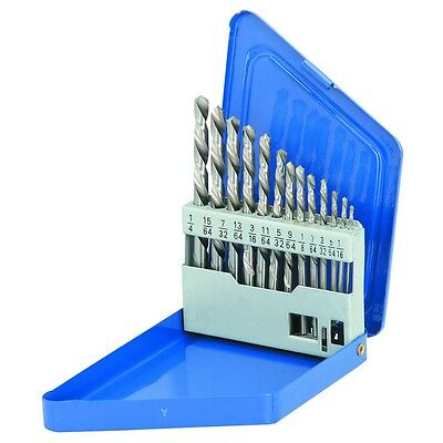 13 Pc Left Handed Drill Bit Set Backwards Steel Reverse Bolt Remover