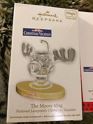 National Lampoon's Christmas Vacation Ornament Set 2012-2016