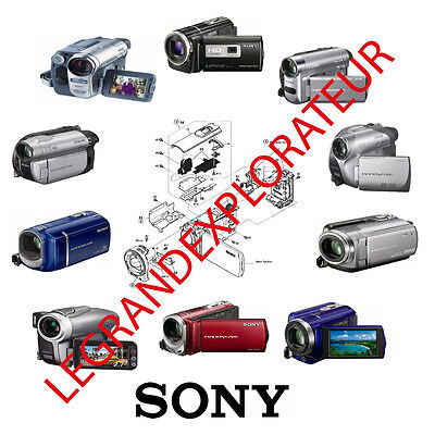 Sony camcorder  repair - service  manual of  your choice  (ask for your model)