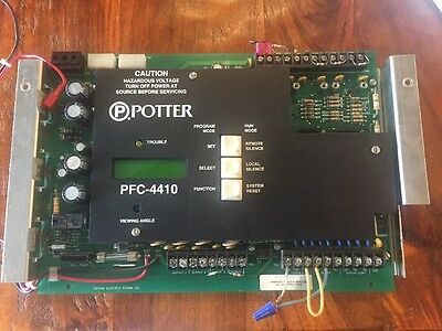 Potter Pfc-4410 Facp Board Only