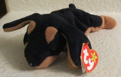 Ty Beanie Baby Doby 1996 4th Generation Hang Tag 4th TT PVC Filled