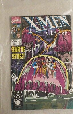Marvel Comics X-Men Classic #55 Jan. 1990