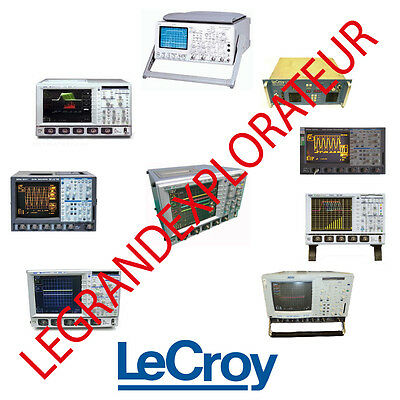 Ultimate Lecroy Repair Service Owner Manuals & Schematics  (140 Manual s on DVD)