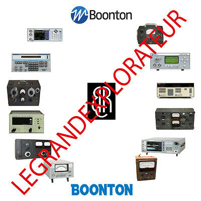 Ultimate Boonton Radio Corporation Repair Service & Owner Manuals  PDFs manual s