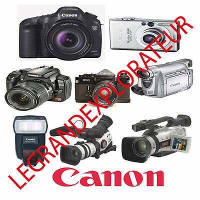 Ultimate Canon Digital Cameras & Camcorders Repair Service Manuals  PDF Manual s