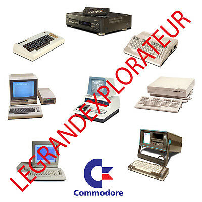 Ultimate Commodore Computer Operation, Repair  Service manual     220 PDF on DVD