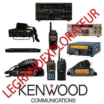 Ultimate Kenwood Ham Radio Owner, Repair Service Manuals  (PDFs manual s on DVD)