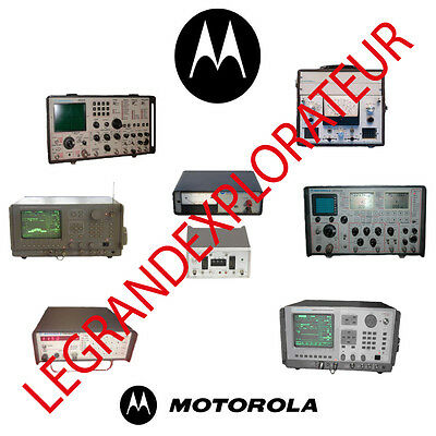 Ultimate Motorola Communications System Analyser Repair Service & Owner manual s