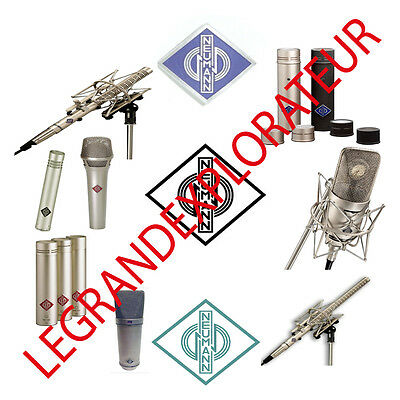 Ultimate Neumann microphone owner repair service manuals & schematic manual s