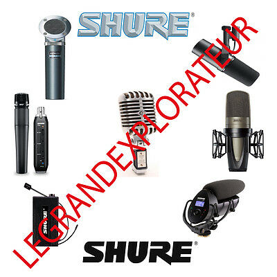 Ultimate  Shure Microphone Operation Repair Service Manual & Schematics  on DVD