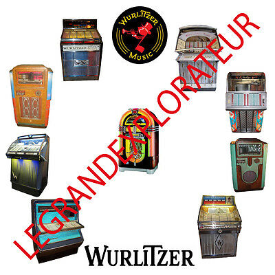 Wurlitzer Jukebox  Repair Service Manuals & schematics 300 PDFs manual s on DVD