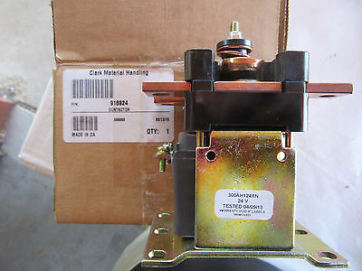Clark 916924 Heavy Duty Contactor 300AH124XN, 24 Volts NEW! in Box Free Shipping