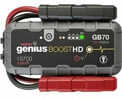 NOCO Genius GB70 12V 2000 Amp Lithium Portable Jump Starter Pack