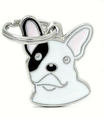 French Bulldog - Dog ID Tag - Engraved FREE - Personalised Identity - Charm