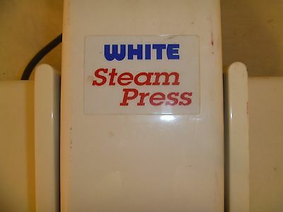 Excellent Used Condition White Steam Press Model WSP 2 Adjustable Steam 80410