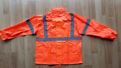 Atex Safety Waterproof Rain Jacket and Pants with Bag