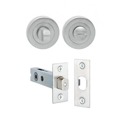 Delf Privacy Assembly 0201SC Suits Long Plate Satin Chrome