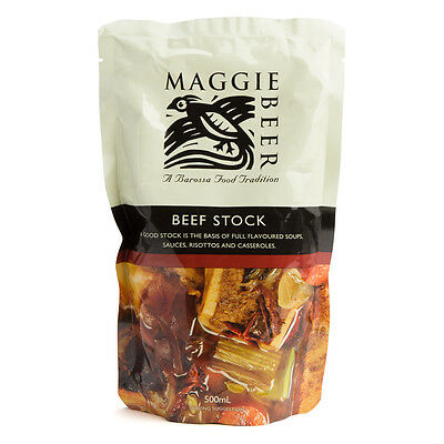 NEW Maggie Beer Beef Stock 500ml