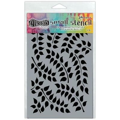 Dylusions Stencil - Small 5x8 - Fronds Of Foliage
