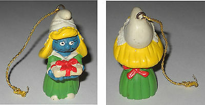 PUFFETTA NATALIZIA Smurfette Christmas 20200 Portugal 1984 Applause 1A