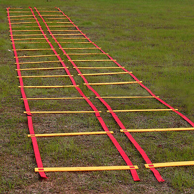 Durable 9-rung Agility Soccer Training Ladder for Soccer Speed Football Training