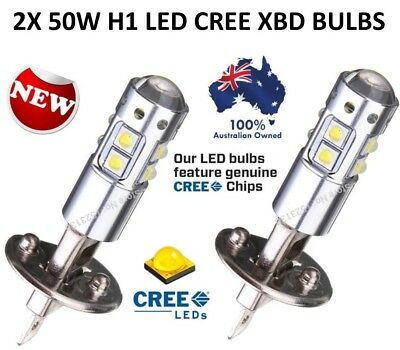 2X 2017 H1 Led Cree Xbd Headlight Fog Driving Light Bulb Car Ute 4Wd Lamp Globe
