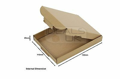 C6 A6 Size Box Large Letter Strong Cardboard Shipping Mailing Postal Pip