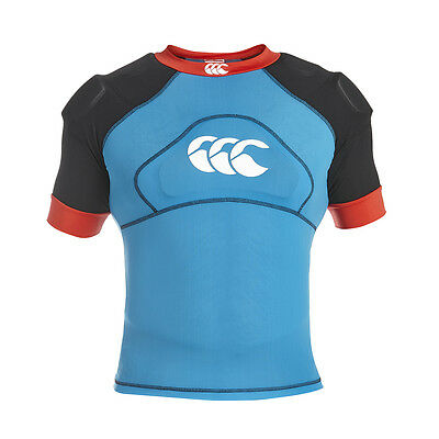 Epauliere rugby Tech Impact Vest canterbury  Bleu Taille XXL NEUF