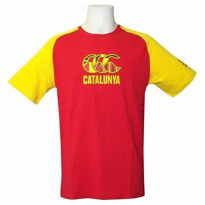 Tee shirt Rugby Canterbury Catalunya Taille S