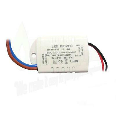 LED Driver Power Supply Transformer, 6 Watt 240V - DC 12V MR16 Lights or similar