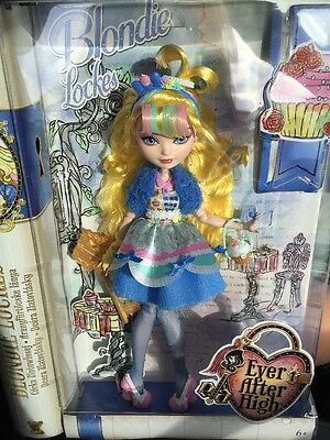 "❤️Ever After High Blondie Lockes ""just Sweet"" Doll Brand New In Box!��"
