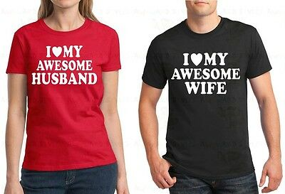Couple T Shirt Husband And Wife Shirt I Love My Crazy Husband