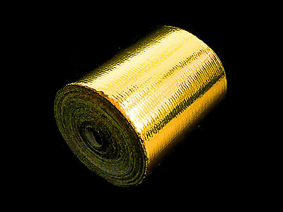 5cm x 5m Reflect A Gold Heat Reflective Protection Shield Barrier Tape DEI Roll