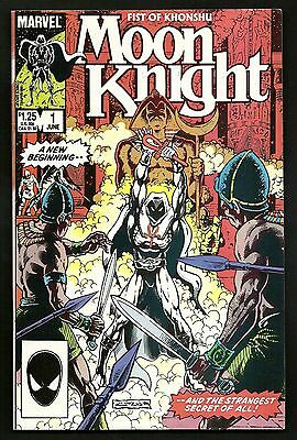 Moon Knight Fists of Khonshu 1 & Marc Spector Moon Knight 1 (Lot of 3) 1st Print