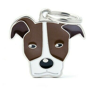 Pitbull Terrier - Dog ID Tag - Engraved FREE - Personalised - Identity - Charm