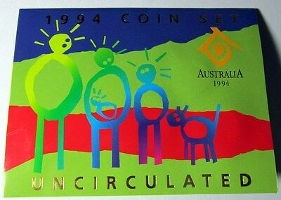 1994 Australia -Official Bu Mint Set (6) - Year Of The Family -Orig. Ram Booklet
