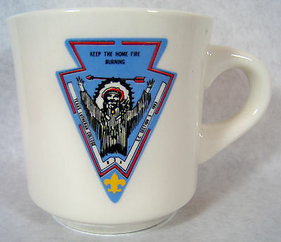 Vintage 1983 Texas Lutheran College S.C. Section 5 Boy Scout B.S.A Mug