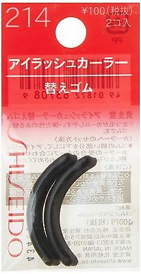 New Shiseido Eyelash Curler Refill Pad 214 2pcs in Package From Japan f/s