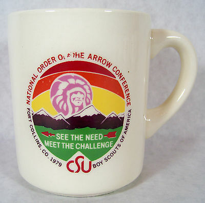 1979 National Order of Arrow Conference Ft Collins Colorado Boy Scout B.S.A Mug