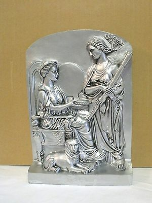 """Cybele & Hecate Wall Hanging - Handcrafted - 9 """""""