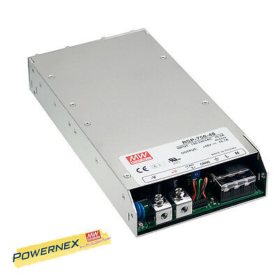 MEAN WELL [PowerNex] RSP-750-48 750w 48v Single Output Switching Power Supply